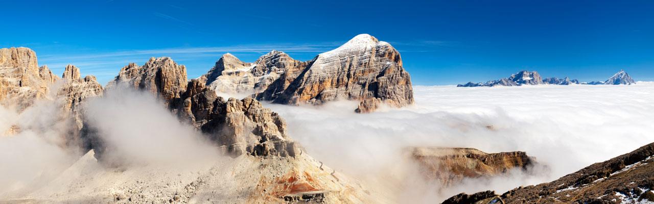 Cortina und seine Berge
