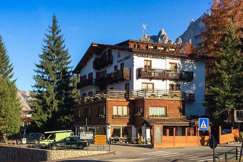 Ciasa Lorenzi Hotel in Cortina