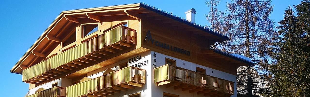 Il nuovo Hotel Ciasa Lorenzi a Cortina